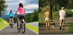 Велосипед или ходьба, что лучше для похудения